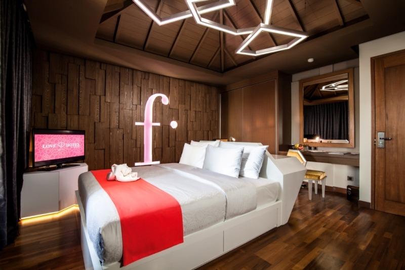 Love F Hotel Legian 2 » Love F Hotel Legian - Penginapan dengan Desain Eksklusif Berbentuk Mutiara