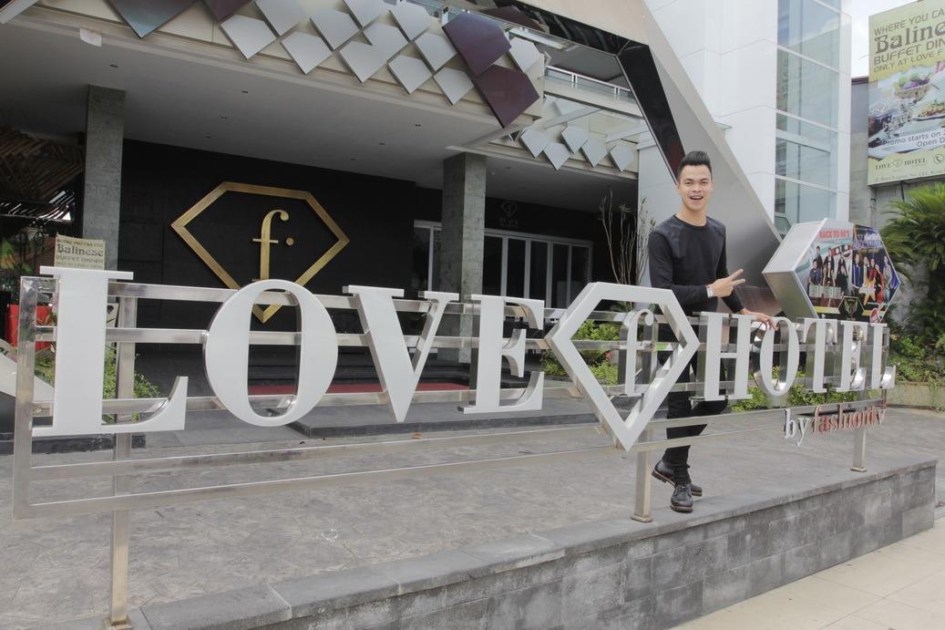 Love F Hotel Legian – Penginapan dengan Desain Eksklusif Berbentuk Mutiara