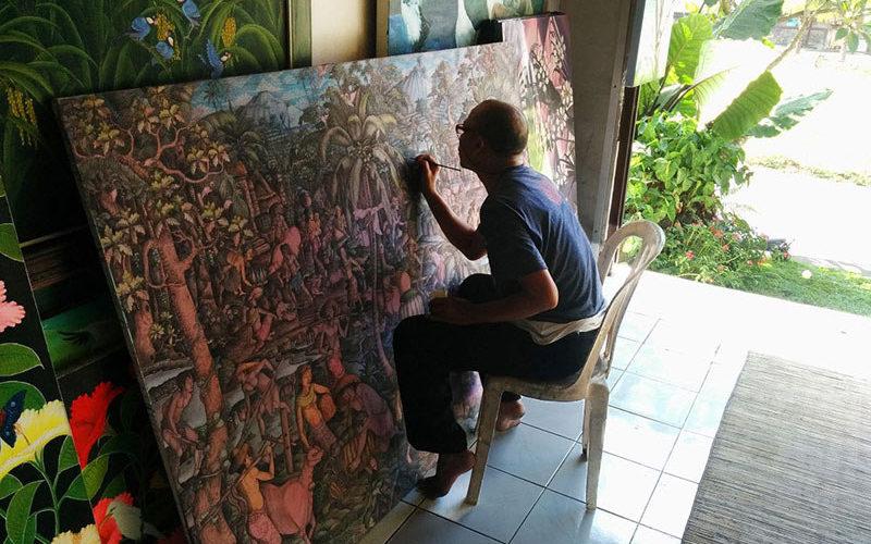 Lukisan Seniman Bali