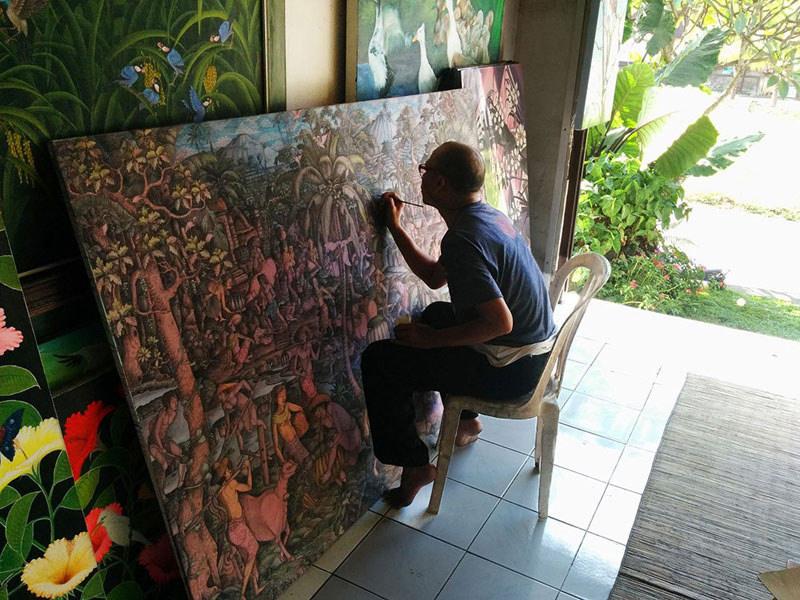 Lukisan Seniman Bali 4 » Ingin Membeli Oleh-Oleh Lukisan Seniman Bali? Ini Tips yang Perlu Diperhatikan