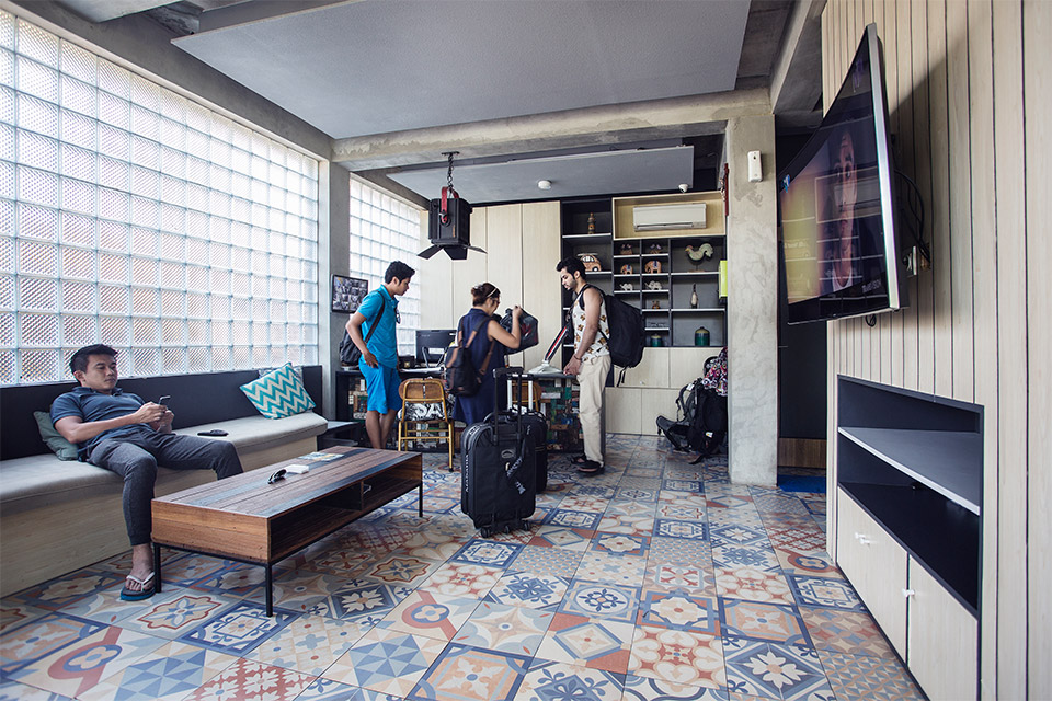 M Boutique Hostel Kerobokan 2 » M Boutique Hostel Kerobokan, Hotel Kapsul Murah dengan Fasilitas Kolam Renang di Bali