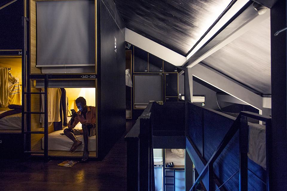 M Boutique Hostel Kerobokan 3 » M Boutique Hostel Kerobokan, Hotel Kapsul Murah dengan Fasilitas Kolam Renang di Bali