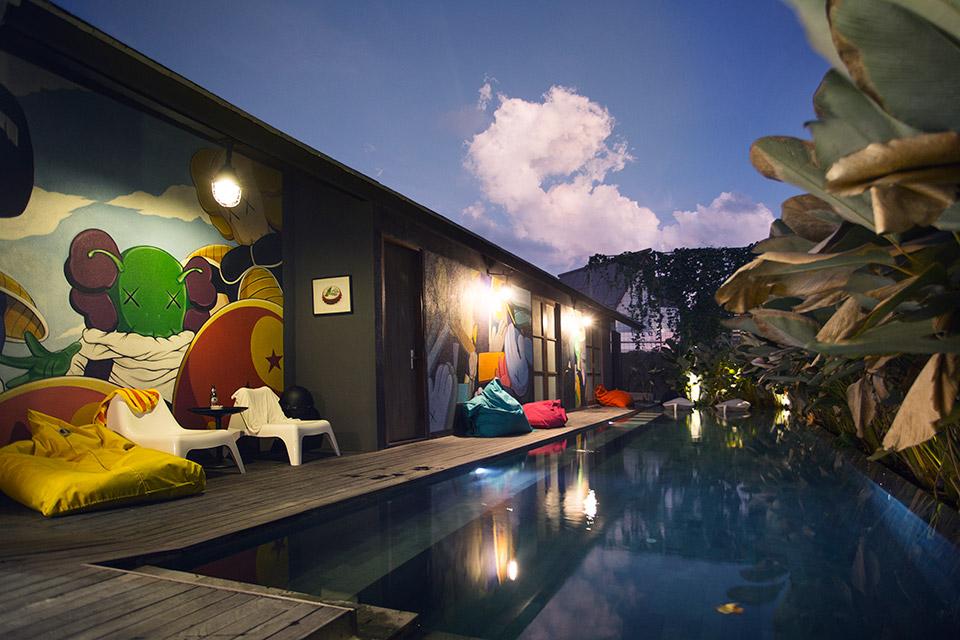 M Boutique Hostel Kerobokan 4 » M Boutique Hostel Kerobokan, Hotel Kapsul Murah dengan Fasilitas Kolam Renang di Bali