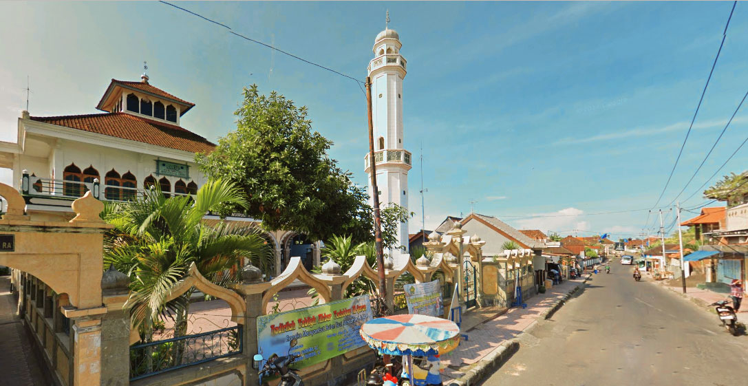 Masjid Nurul Huda Gelgel, Masjid Pertama dan Tertua   di Pulau Bali