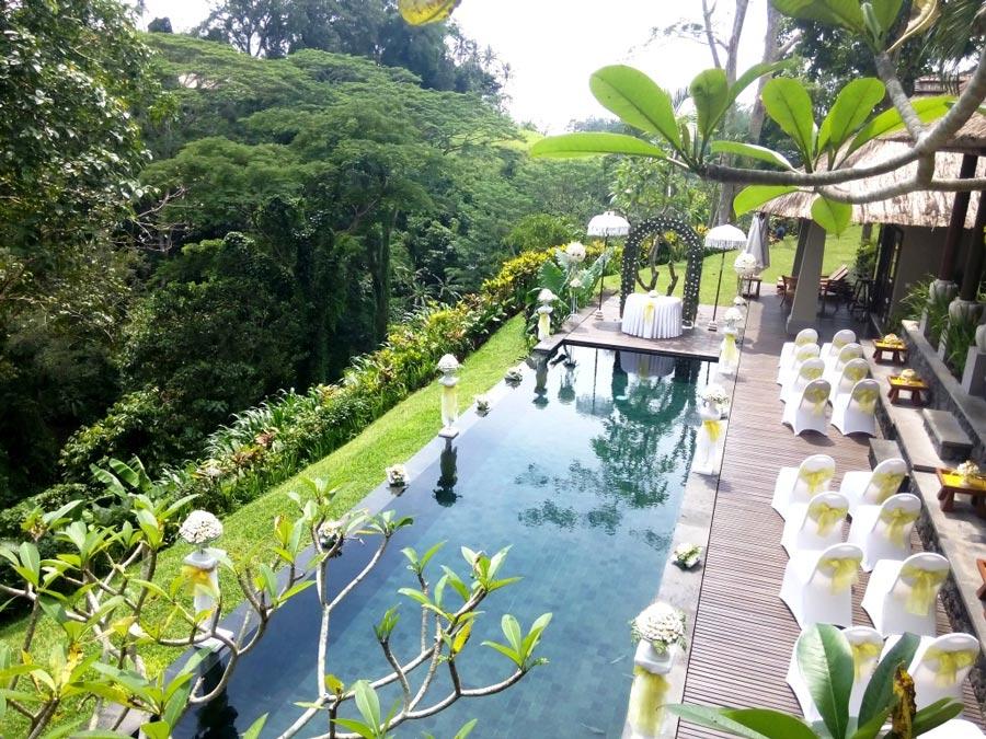 Maya Resort Ubud, Hadirkan Pesta Pernikahan dengan Suasana Alami dan Romantis