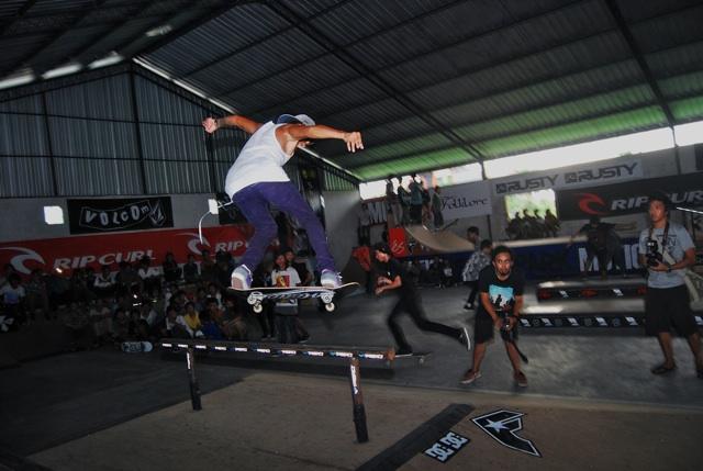 Motion Skatepark Kuta, Lokasi Tepat Mengasah Kemampuan Skateboard