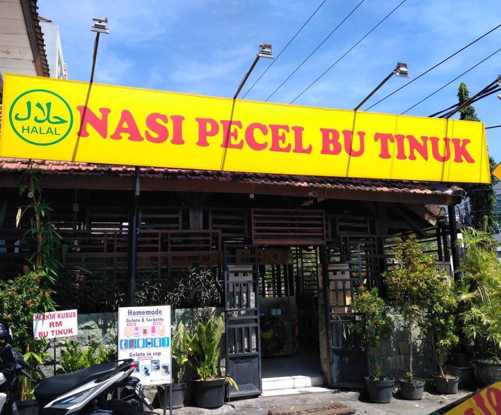 Nasi Pecel Bu Tinuk Kuta 2 1024x849 » Nasi Pecel Bu Tinuk Kuta, Pilihan Kuliner Pecel yang Paling Terkenal di Seantero   Bali