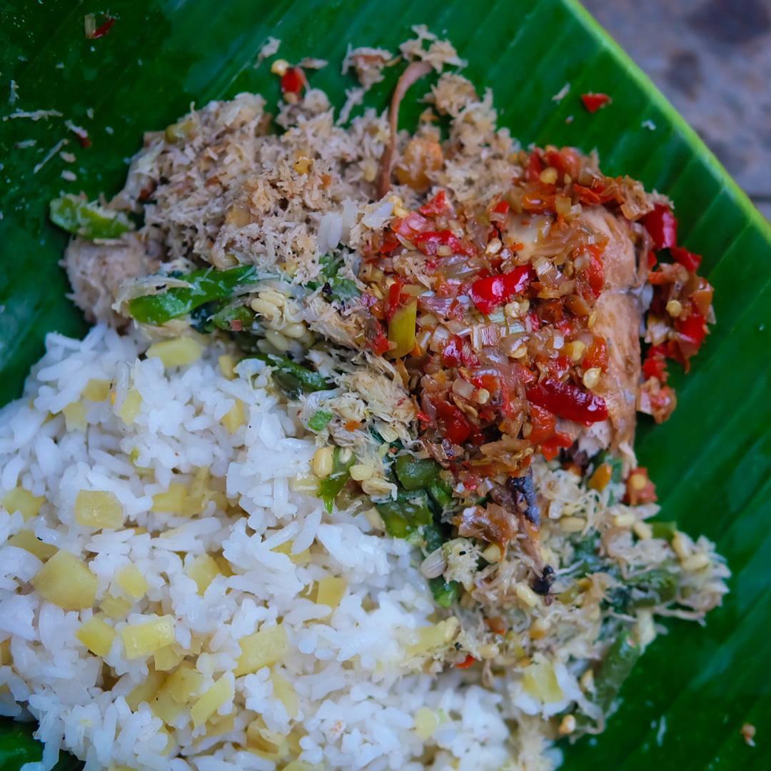 Nasi Sela Khas Karangasem, Kuliner Nasi Campur Ubi yang Sehat dan Unik