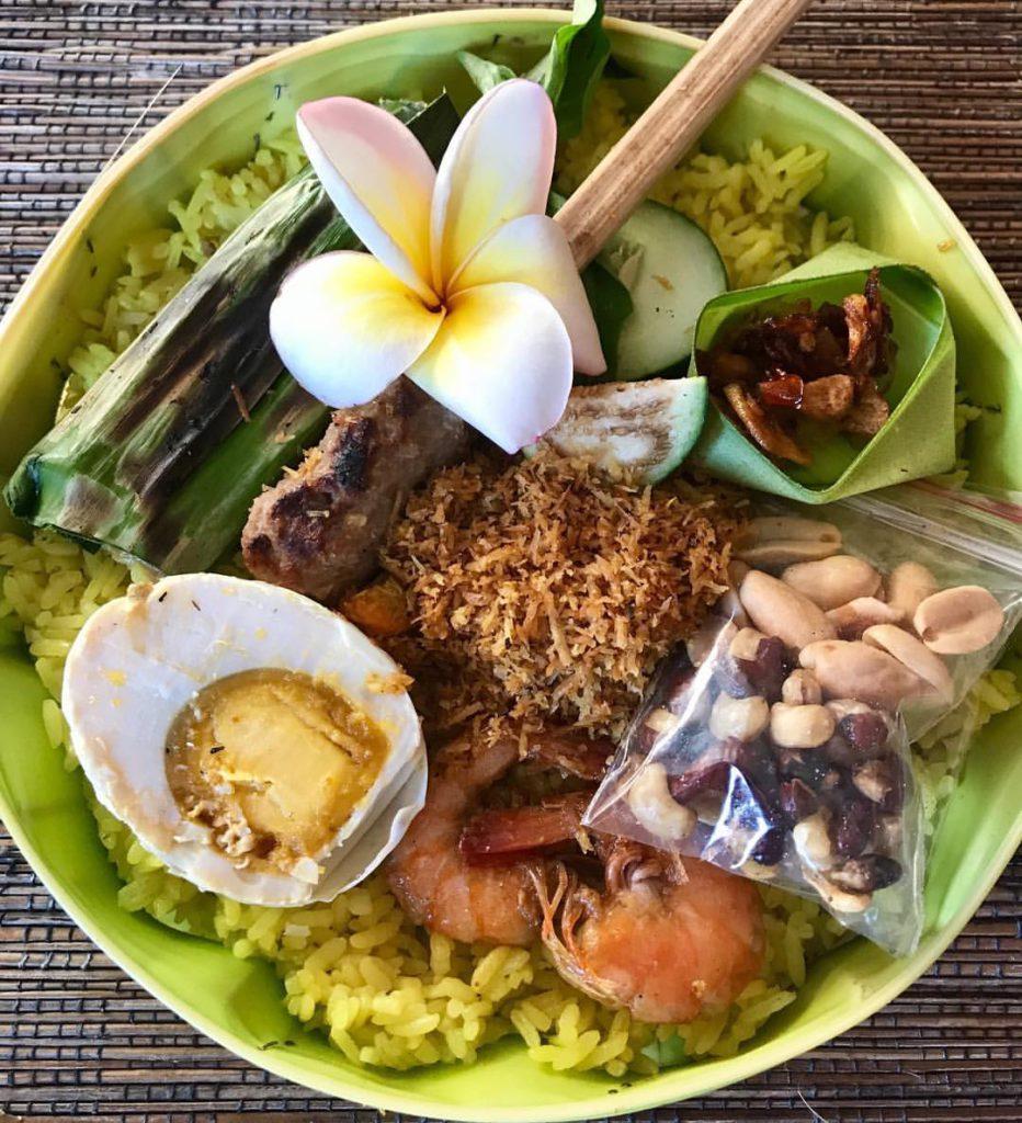 Nasi Yasa Khas Bali 1 932x1024 » Nasi Yasa Khas Bali, Kuliner yang Wajib Hadir saat Hari Raya Saraswati