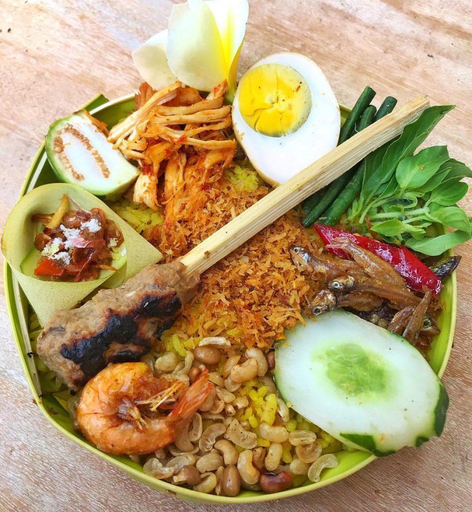Nasi Yasa Khas Bali 2 945x1024 » Nasi Yasa Khas Bali, Kuliner yang Wajib Hadir saat Hari Raya Saraswati