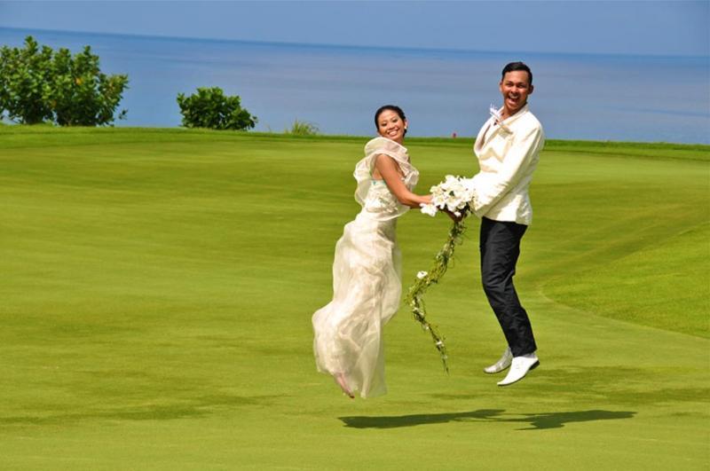 New Kuta Golf Pecatu 1 » New Kuta Golf Pecatu, Opsi Venue Pernikahan di Bali Kombinasi Lapangan Golf dan Pemandangan Atas Tebing
