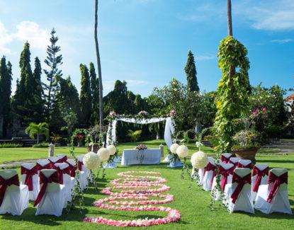 Paket Wedding White Rose Kuta