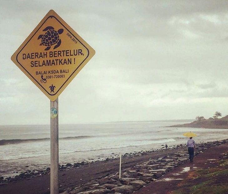 Pantai Batu Tumpeng Klungkung