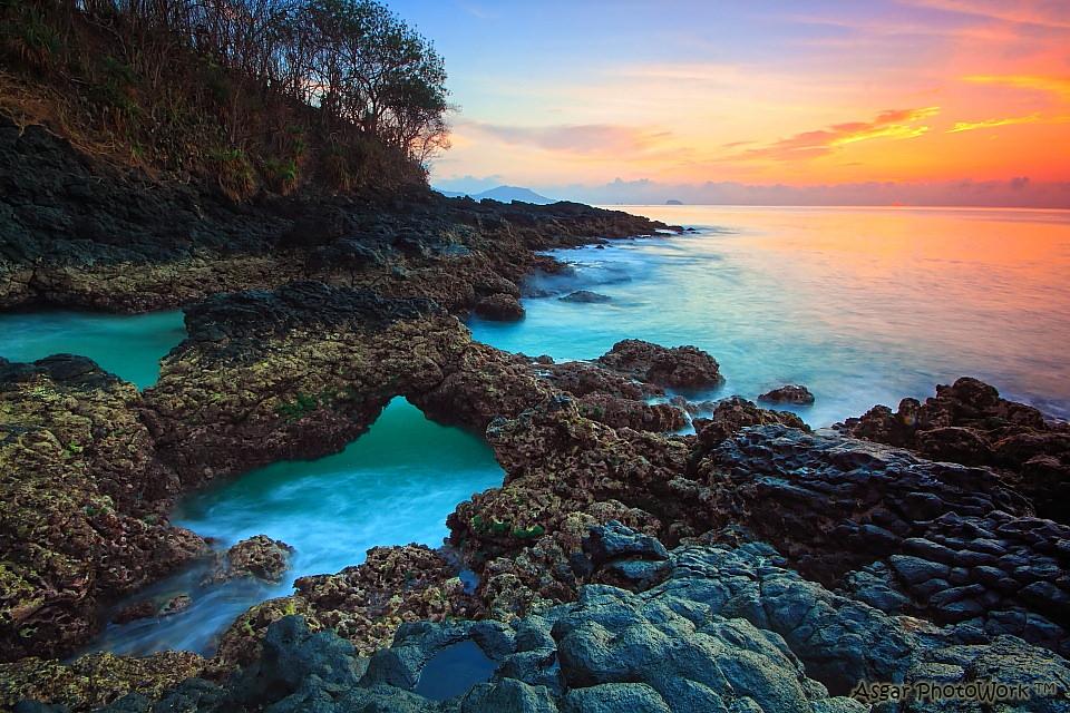 Pantai Bias Tugel 1 » Pantai Bias Tugel, Pantai dengan Laguna Kecil yang Indah di Padang Bai