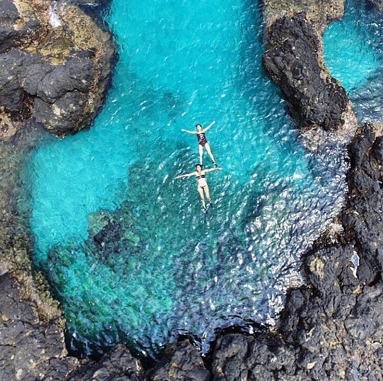 Pantai Bias Tugel, Pantai dengan Laguna Kecil yang Indah di Padang Bai