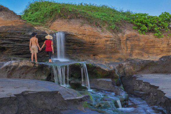 Pantai Kelating Tabanan 2 » Pantai Kelating Tabanan, Pantai Bernuansa Alami dengan Kombinasi Pasir Hitam dan Pemandangan Sunset Keren