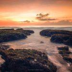 Sunset di Pantai Manyar Ketewel