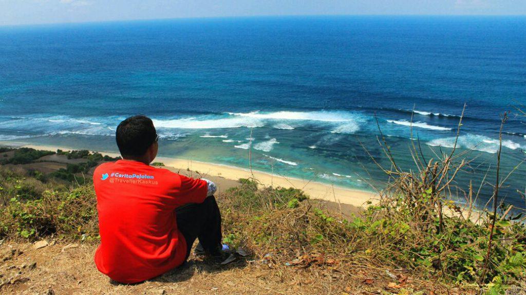 Pantai Nyang Nyang 1024x576 » Pantai Nyang Nyang, Benar-benar Pantai Perawan yang Tersembunyi