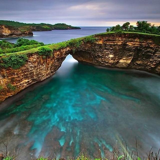 Pantai Pasih Uug Nusa Penida 2 » Pantai Pasih Uug Nusa Penida, Pantai Tersembunyi dengan Pemandangan Unik