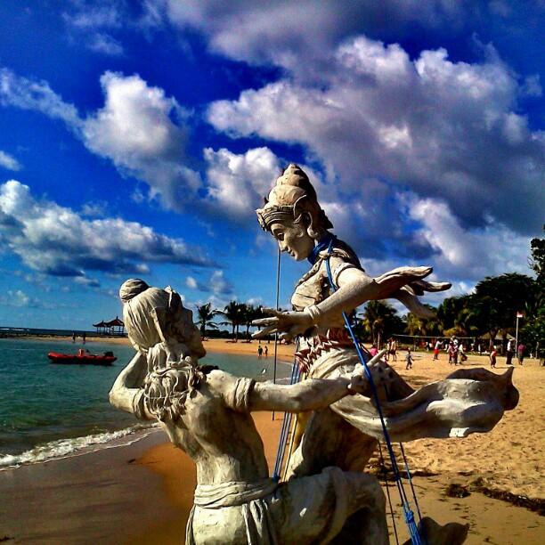 Pantai Samuh Bali 2 » Wisata Pantai Samuh Bali, Pantai Pasir Putih dengan Underwater yang Mengagumkan