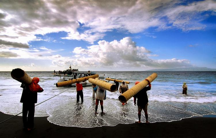 Pantai Segara Kusamba Klungkung 1 » Pantai Segara Kusamba Klungkung, Wisata Pantai dengan Suasana yang Mendamaikan Hati