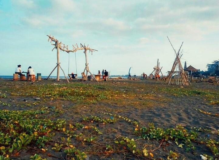 Pantai Tangtu Denpasar 2 » Pantai Tangtu Denpasar, Pantai Terbengkalai yang Kini Bertransformasi Jadi Pantai Rekreasi Cantik