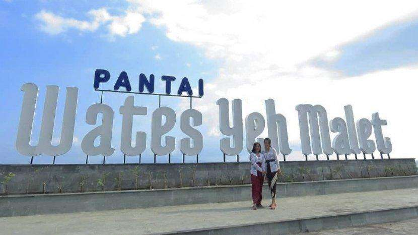 Pantai Wates Yeh Malet 1 » Pantai Wates Yeh Malet, Destinasi Wisata Kekinian Murah Meriah Terbaru di Bali