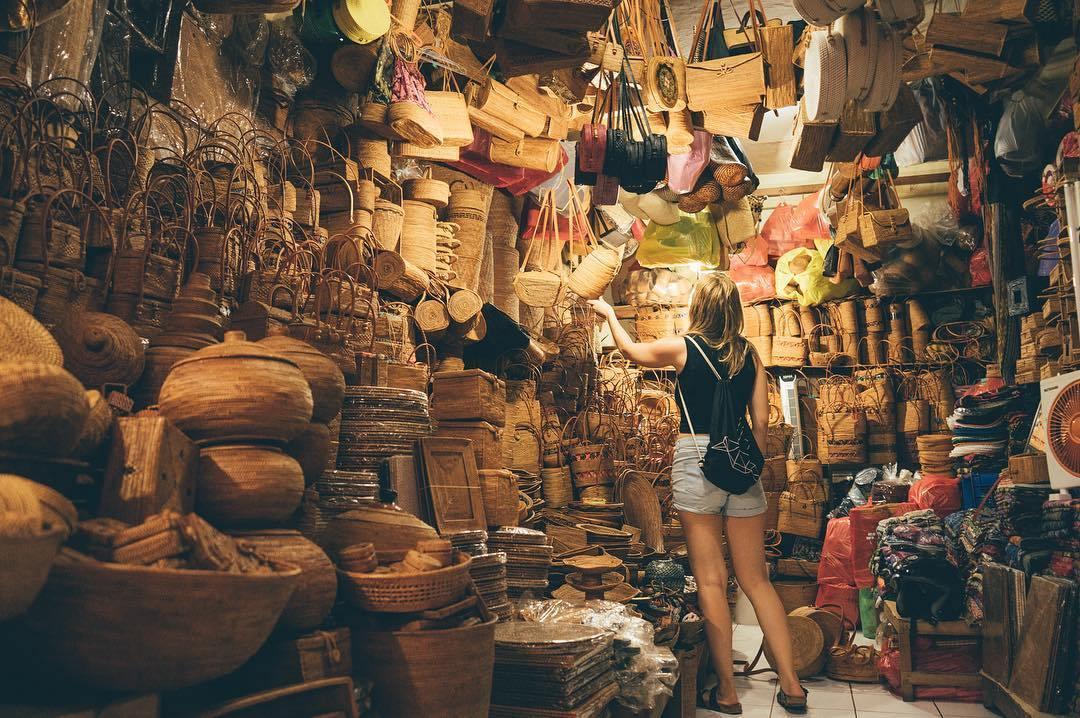 Pasar Tradisional Ubud, Tempat Asyik Berburu Oleh-Oleh Suvenir Khas Bali