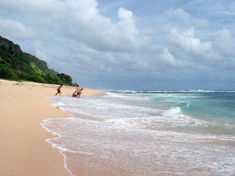 Pasir pantai di Pantai Nyang Nyang Bali » Pantai Nyang Nyang, Benar-benar Pantai Perawan yang Tersembunyi