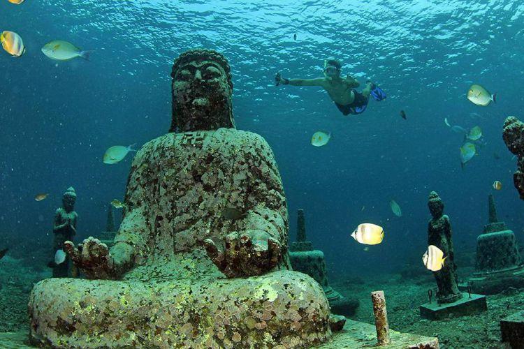 Patung Budha Unik di Bali 3 » Wisata Menyaksikan Patung Budha Unik di Bali, Ini Pilihan Tempatnya!