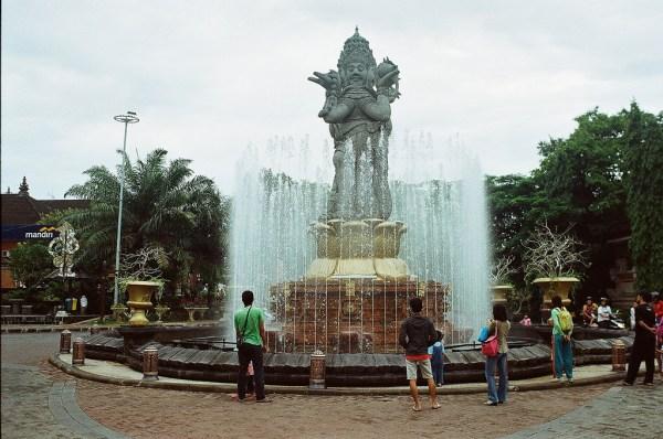 Patung Catur Muka Bali, Patung Empat Wajah yang Menjadi Landmark Denpasar