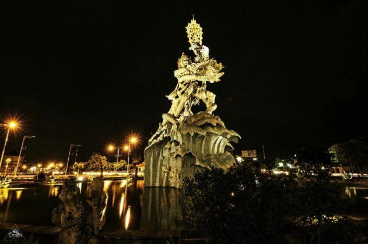 Patung Dewa Ruci Kuta, Monumen Megah yang Menggambarkan Kegagahan Bima