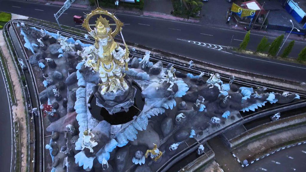 Patung Titi Banda Denpasar 3 1024x576 » Patung Titi Banda Denpasar, Patung dengan Sarat Makna Ikon Terbaru Pulau Bali
