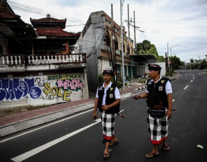 Pecalang di Bali