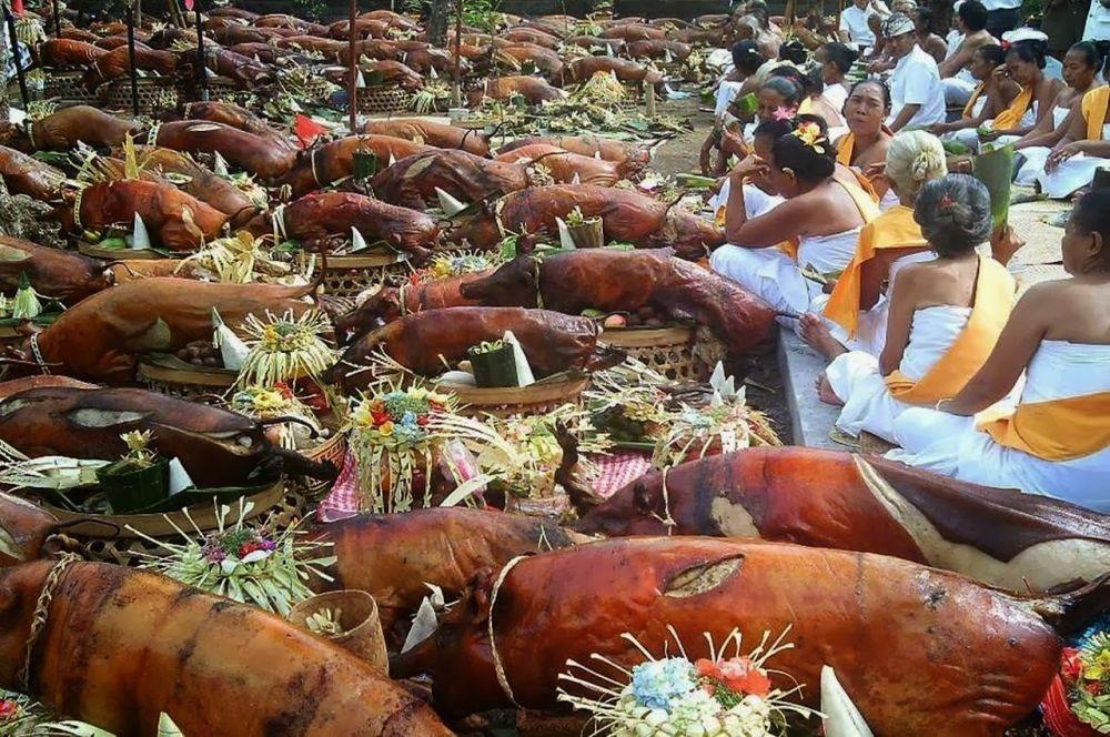 perayaan Kuningan dan Galungan di Bali
