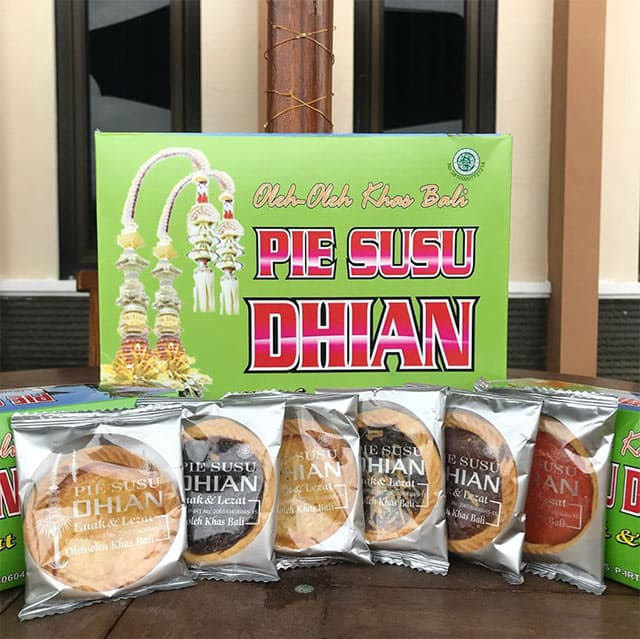 Pie Susu Dhian Khas Bali 1 » Oleh-Oleh Pie Susu Dhian Khas Bali yang Enak dan Diburu Wisatawan