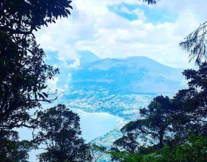 Pucak Mangu Gunung Catur