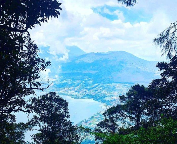 Pucak Mangu Gunung Catur 1 » Menikmati Keindahan Danau Batur dari Pucak Mangu Gunung Catur