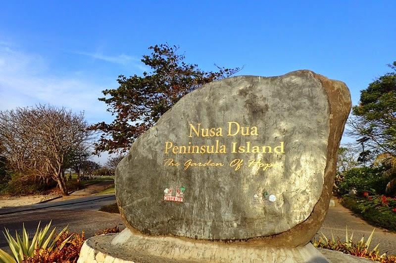 Pulau Peninsula Nusa Dua 1 » Pulau Peninsula Nusa Dua, Pulau Kecil yang Jadi Lokasi Menarik untuk Jogging di   Bali