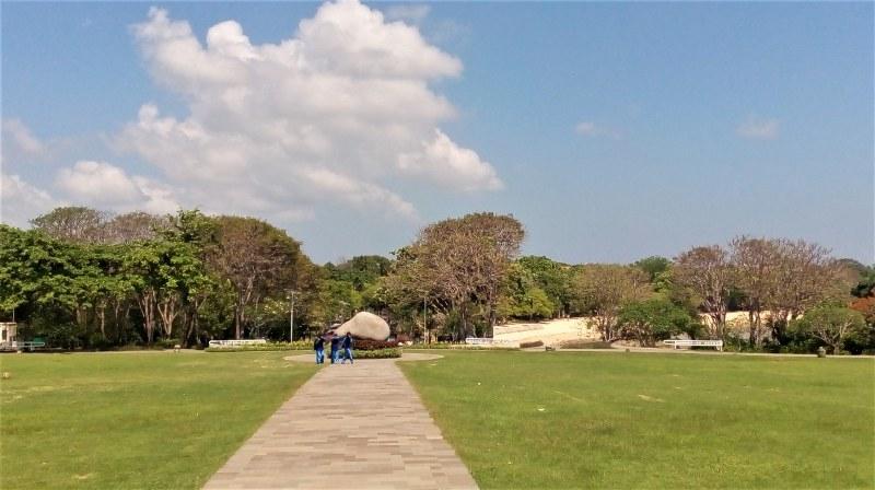 Pulau Peninsula Nusa Dua 3 » Pulau Peninsula Nusa Dua, Pulau Kecil yang Jadi Lokasi Menarik untuk Jogging di   Bali
