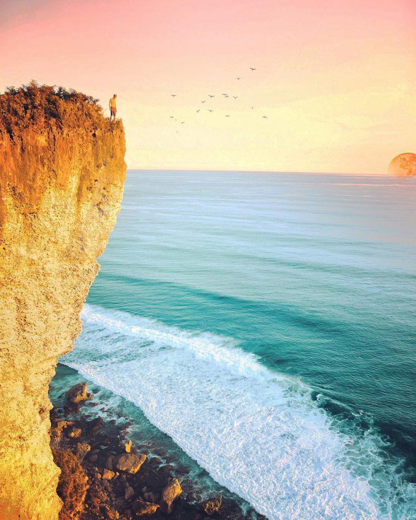 Puncak karang boma pecatu 3 819x1024 » Puncak Karang Boma Pecatu, Menyaksikan Keindahan Bali dari Pinggir Tebing secara Menakjubkan