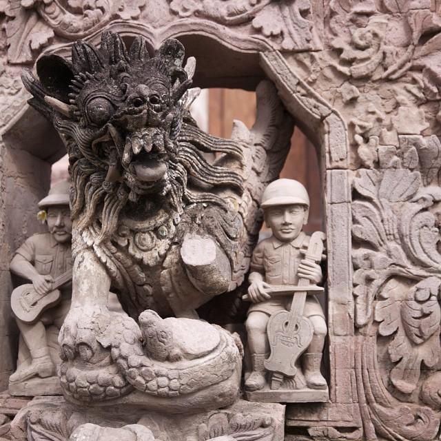 Pura Maduwe Karang Kubutambahan 1 » Pura Maduwe Karang Kubutambahan, Pura dengan Patung dan Relief Unik di Bali
