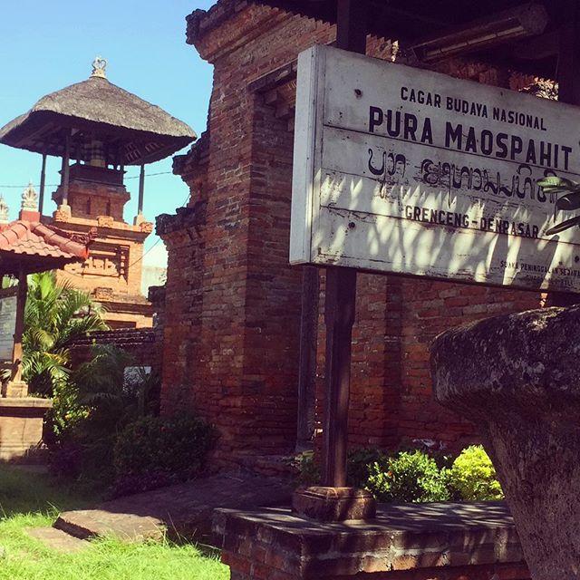 Pura Maospahit Denpasar, Wisata Sejarah Berkunjung ke Peninggalan Kerajaan Majapahit di Bali