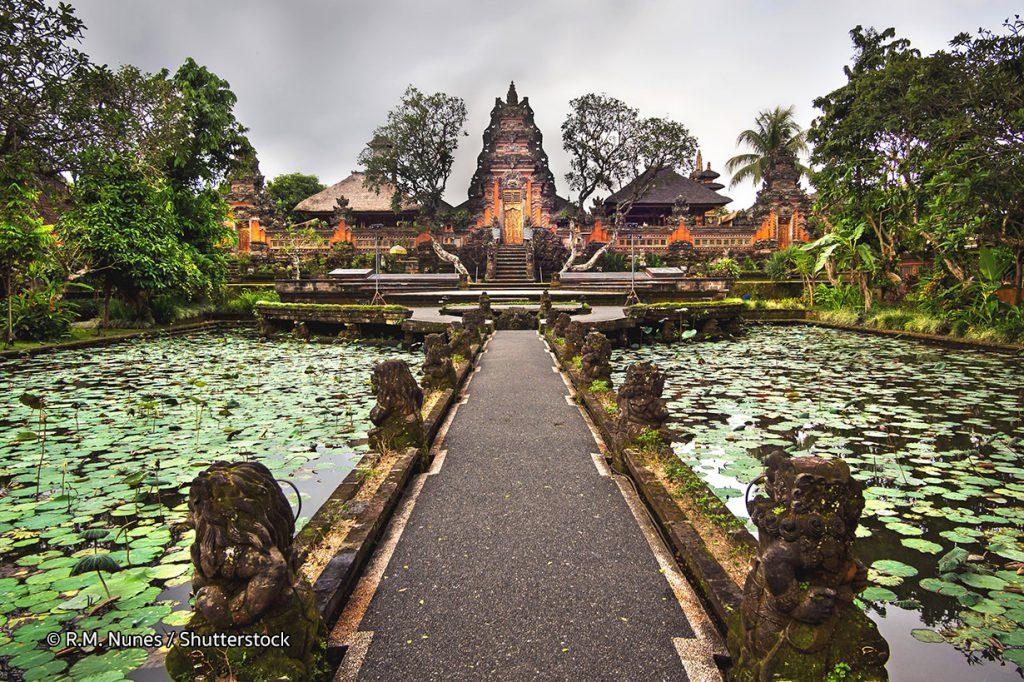 Pura Taman Saraswati Ubud