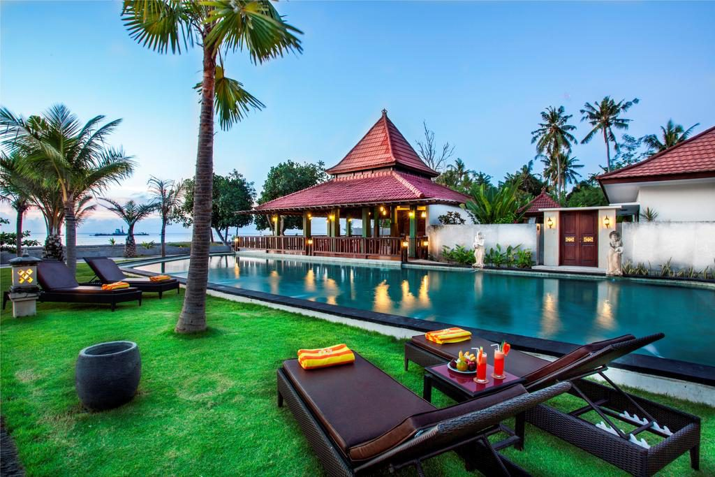 Puri Saron Baruna Beach Lovina 1 1024x683 » Puri Saron Baruna Beach Lovina, Hotel Tepi Pantai dengan Suguhan Pemandangan Memukau