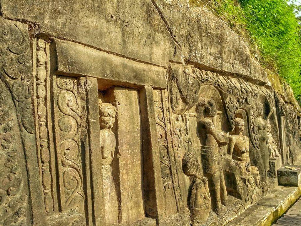 Relief Yeh Pulu Gianyar