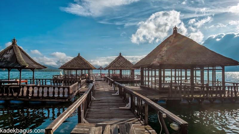 Resto Apung Kedisan Kintamani 2 » Resto Apung Kedisan Kintamani, Restoran Unik yang Mengapung di Atas Danau Batur