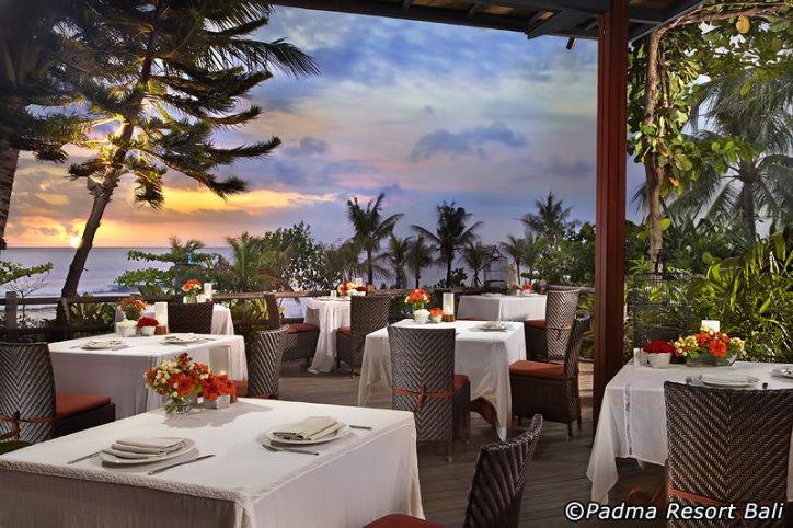 Restoran Bella Rosa at Padma Resort Bali