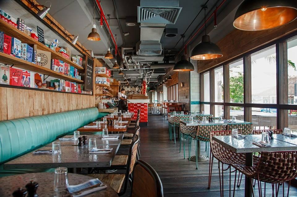 Restoran Jamie's Italian 2 » Restoran Jamie's Italian, Pilihan Kuliner ala Italia di Kawasan Pantai Kuta