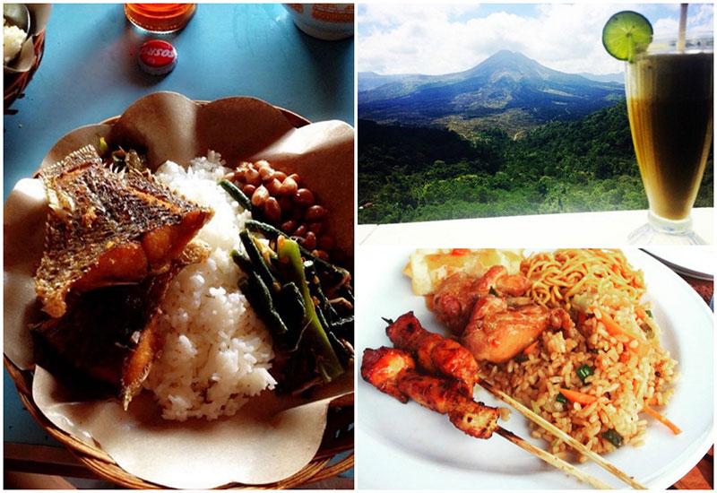 Restoran Madu Sari Mountain Kintamani 1 » Restoran Madu Sari Mountain Kintamani, Sajian Kuliner Enak di Kaki Gunung Batur